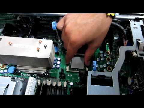 Dell PowerEdge 2850 Server No Video Error - Reseat processors
