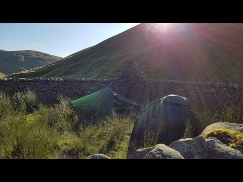 Wild Camping in the Howgill Fells - Yorkshire Dales - 5th ...