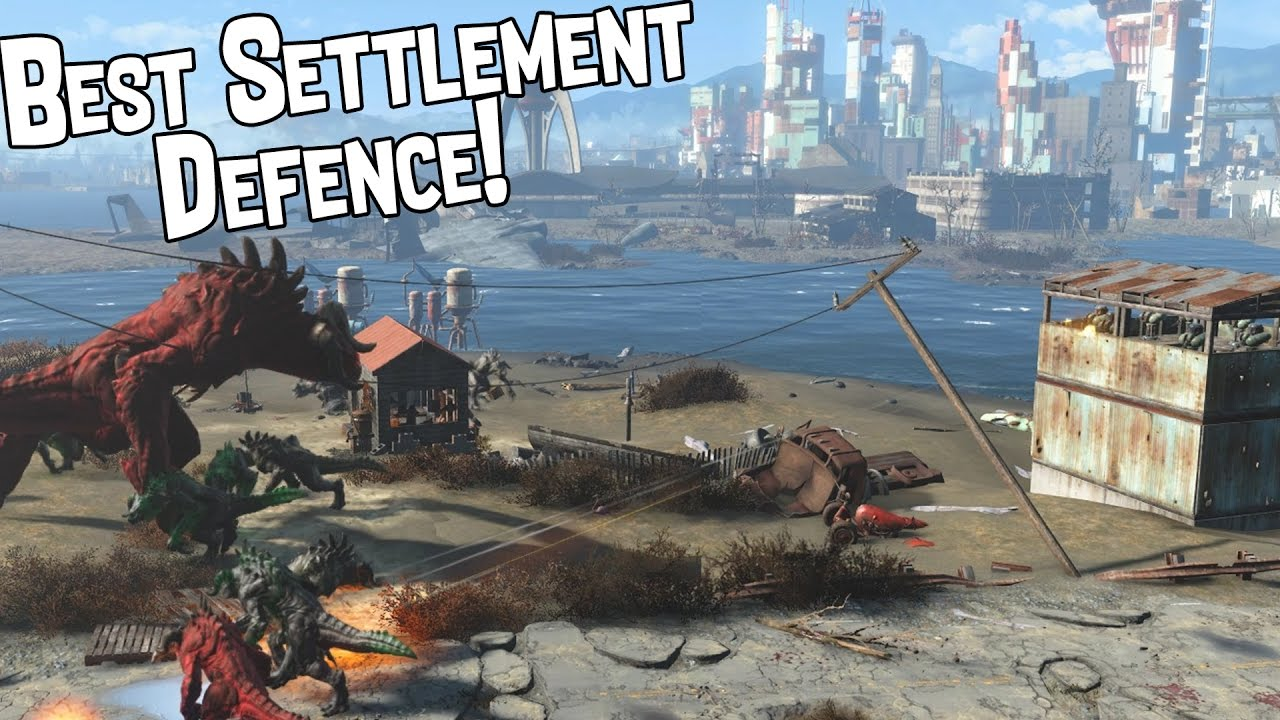 Fallout 4 - Best Settlement Defence (Tower)