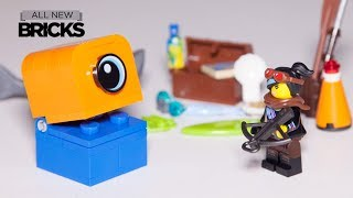 Lego Movie 2 30527 Lucy vs Alien Invader with Lego Xtra 40341 Sea Accessories Speed Build