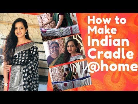 Lasya Talks | Indian Style Cradle | How to make Cradle at home | Lasya Manjunath |