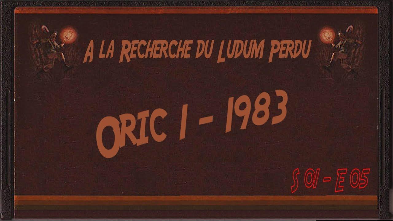 A la Recherche du Ludum Perdu [ Oric-1 | 1983 ] - YouTube