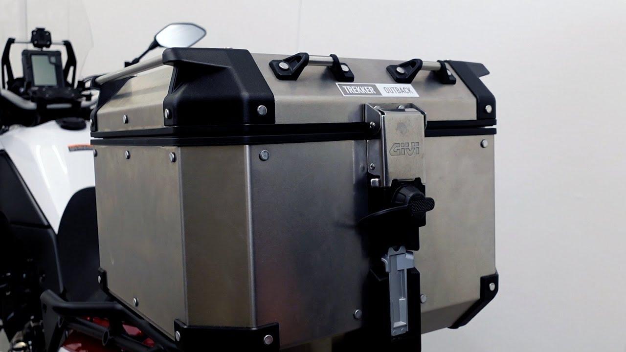 Givi Trekker Outback 42 liter Top Case Review