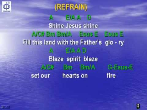 CFC EDMONTON - CLP SONG - SHINE JESUS SHINE with lyrics
