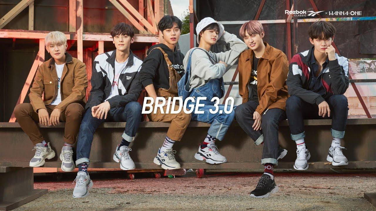 reebok x wanna one royal bridge 3.