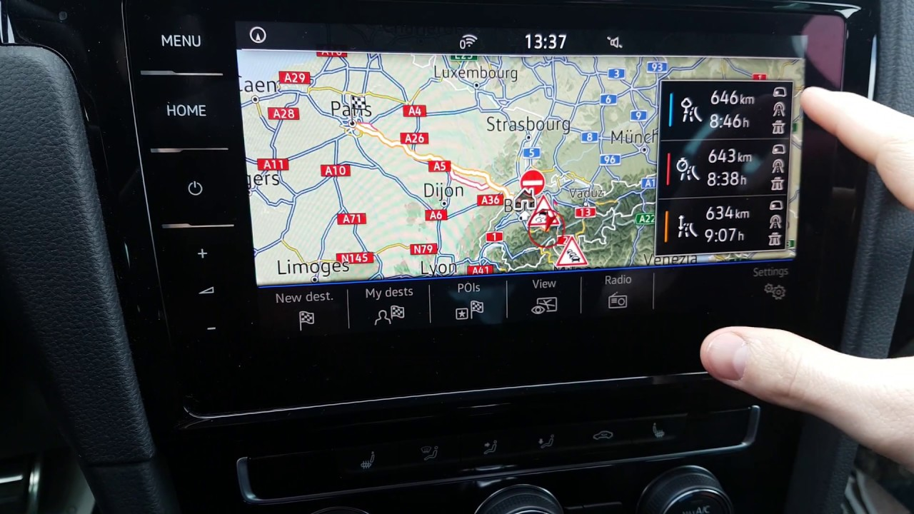 Volkswagen New Navigation System - OWNER REVIEW 2018 ...