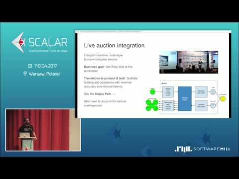 Alan Johnson - BUILDING A REAL-TIME AUCTION ENGINE USING EVENT SOURCING