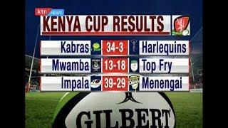 KENYA CUP RESULTS: Leaders Kabras beat Harlequins 34-3   #KTNScoreline