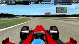 [F1C] Scuderia Ferrari F2012 @Fiorano Circuit with Fernando Alonso (Mod JG 2009-2012) [HD]