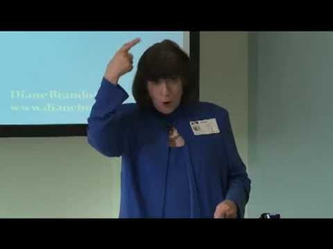 Diane Brandon Teaching Speaking on Wellness