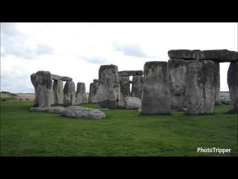 360 view of Stonehenge prehistoric monument UNESCO World Heritage Site in Wiltshire, England [HD]
