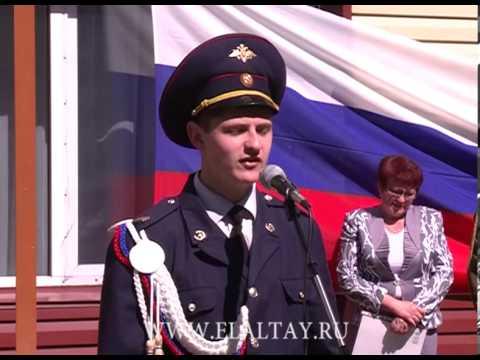 Алтайские кадеты отметили последний звонок