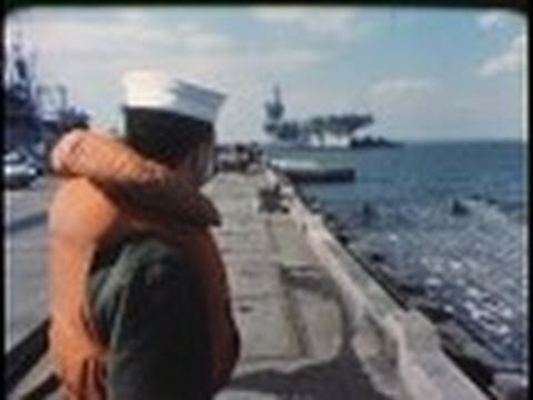 HOME FROM THE SEA - 1970 U.S. NAVY Aircraft Carrier Documentary