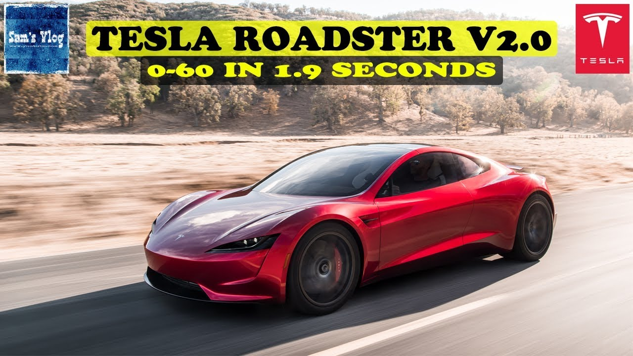Tesla Roadster 2020 Launched - Record Breaking Beast of A ...