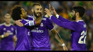 Video Gol Pertandingan Real Betis vs Real Madrid