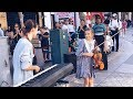 Amazing Piano and Violin performance - Mom and daughter - River Flows in You - Yiruma