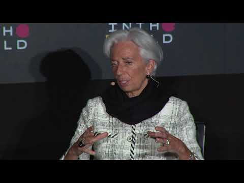 Christine Lagarde on correlation between discrimination and access to finance