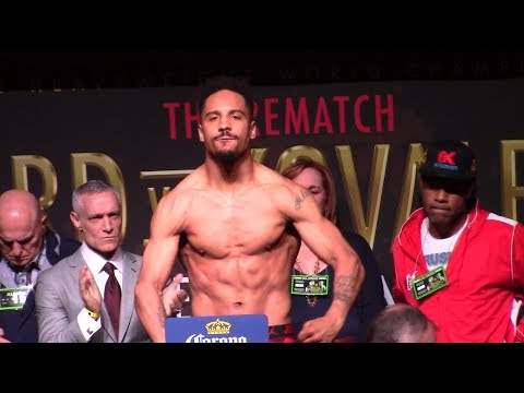 Andre Ward vs Sergey Kovalev 2 Full Weigh In. HoopJab Boxing.