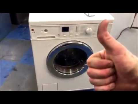 how to open the door to a miele washing machine with no. Black Bedroom Furniture Sets. Home Design Ideas