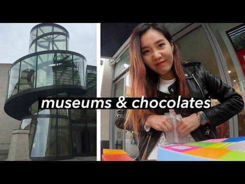 Berlin Vlog #2 | Museums & Customizing My Own Chocolate Bar 🍫