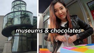 Berlin Vlog #2   Museums & Customizing My Own Chocolate Bar 🍫