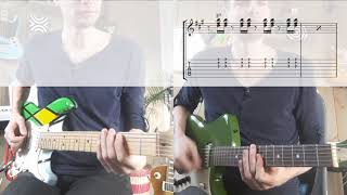 Play That Funky Music White Boy [TABS in video guitar cover]