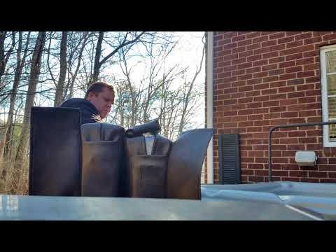 Spa Hot Tub Cover sagging foam Easy FREE DIY pooling water repair fix