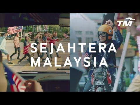 Iklan Hari Kebangsaan TM 2018 | #TMSejahteraMalaysia