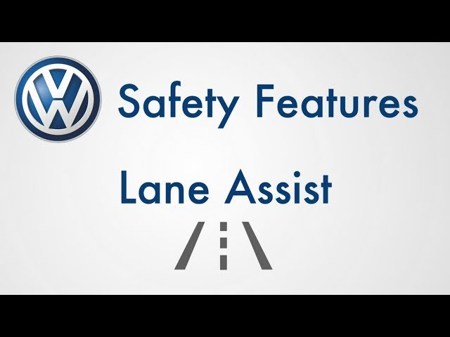 Volkswagen Safety: Driver Assist Safety Features - Lane Assist