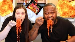 EXTREME SPICY RAMEN NOODLES CHALLENGE!! (WARNING: DO NOT TRY THIS!)