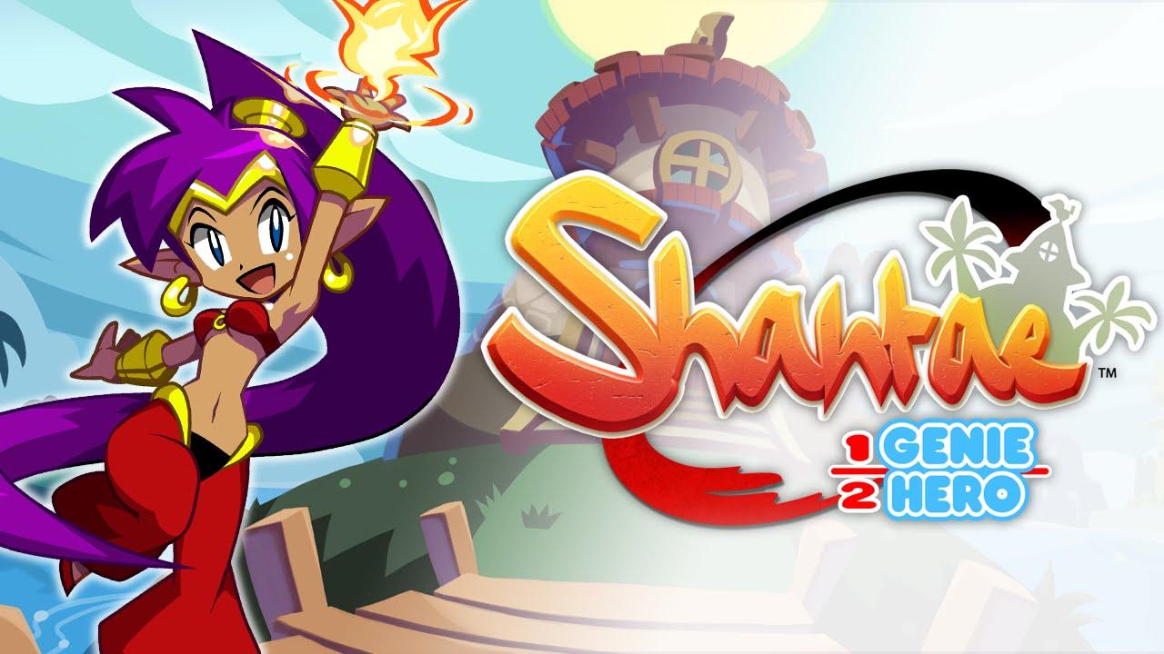 Resultado de imagem para Shantae: Half-Genie Hero