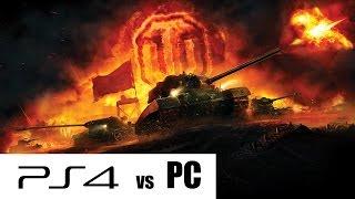 WOT на PS 4 - шах и мат (сравнительный обзор)