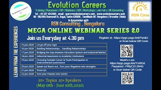 Offline to Online-Harshita Shah-Evolution Careers
