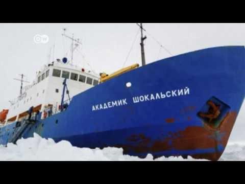 Ship Stranded Off Antarctic Coast | Journal