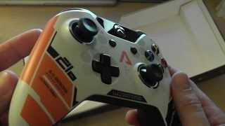 TITANFALL XBOX ONE Limited edition controller unboxing