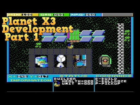 Planet X3 for MS-DOS Development - Part 1