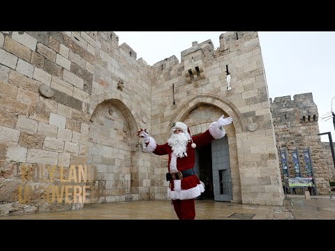 Santa Claus is Coming to Jerusalem Town