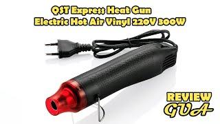 QST Express Heat Gun Electric Hot Air Vinyl 220V 300W - QST-220 - Black