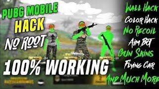 Latest Pubg Mobile Hack,Root/Non Root, Full Antiban,Aimbot,High jump, Flash, Auto Headshot