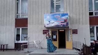 Викторина у библиотеки ко дню города, и фрагмент выступления Лидии Музалевой, ОБНИНСК