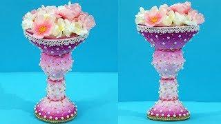Surprising #DIY Flower Pot Making from Plastic Bottle Waste & Funnel   Best from Waste  