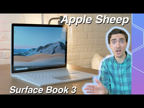 Apple Sheep Reviews Microsoft Surface Book 3!