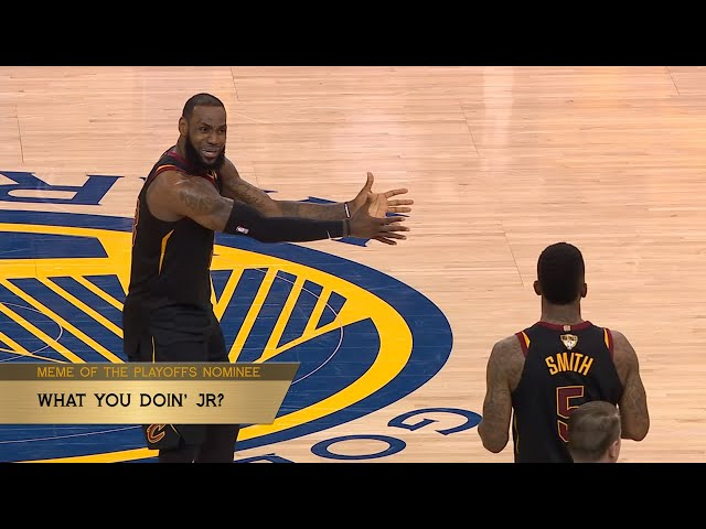 Best Meme of The Playoffs - The Starters