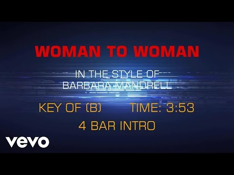 Barbara Mandrell - Woman To Woman (Karaoke)