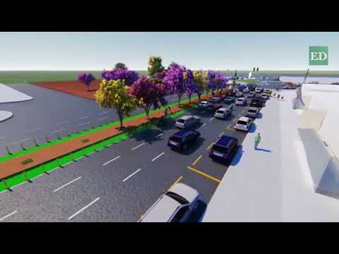 mira como se verá la avenida Grigotá tras su remodelación
