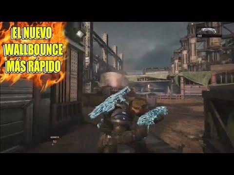El NUEVO WALLBOUNCE en NÚCLEO en Gears of War 4 😱 !! *Más rápido que el de competitivo* 😍