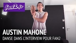Austin Mahone danse pour fan2.fr