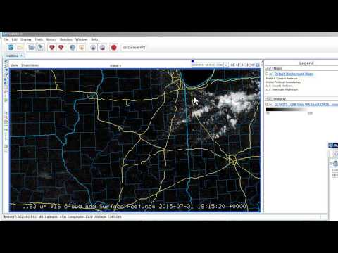 FORECASTER WORKSHOP -- McIDAS 101: Rolling your own satellite photos is EASY