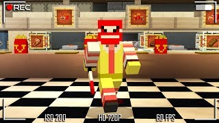 The SECRECT MCDONALD'S Kept Away From us in Minecraft Pocket Edition (McDonald Mystery)