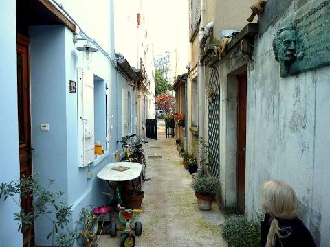 Paname, autour de la rue d'Alésia